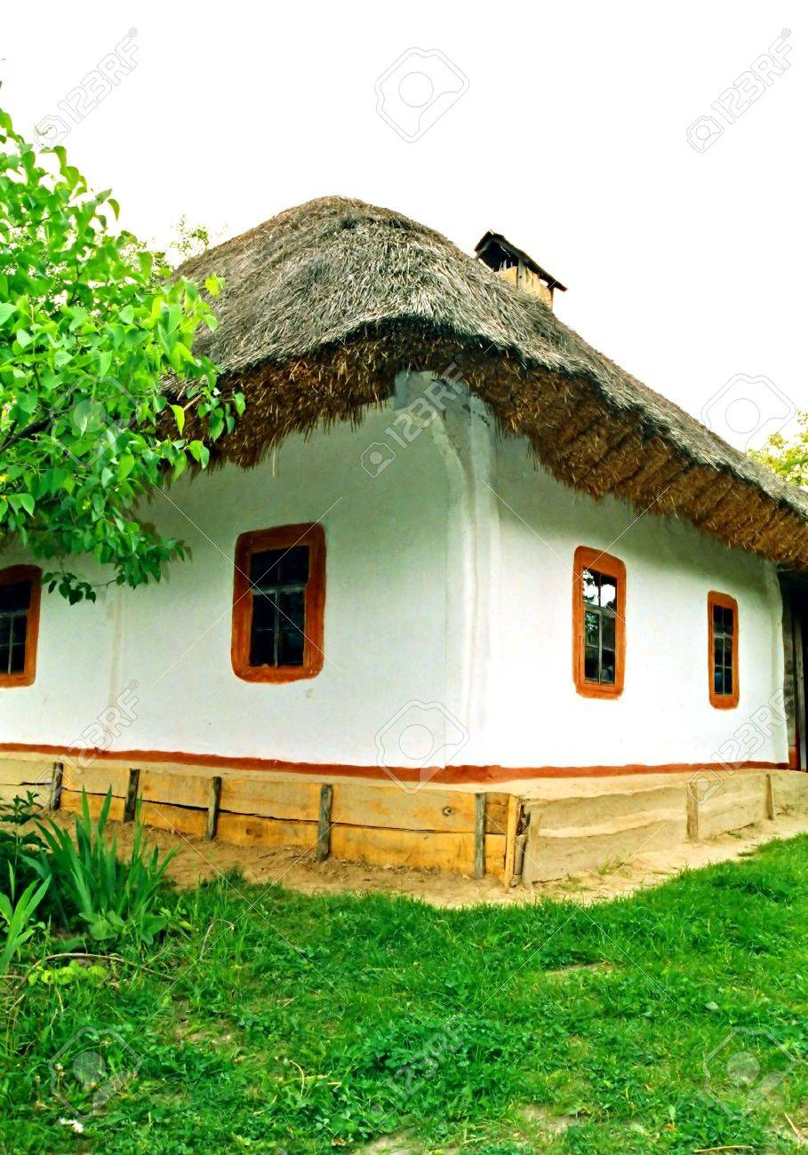 Village old house. Stock Photo - 3315434