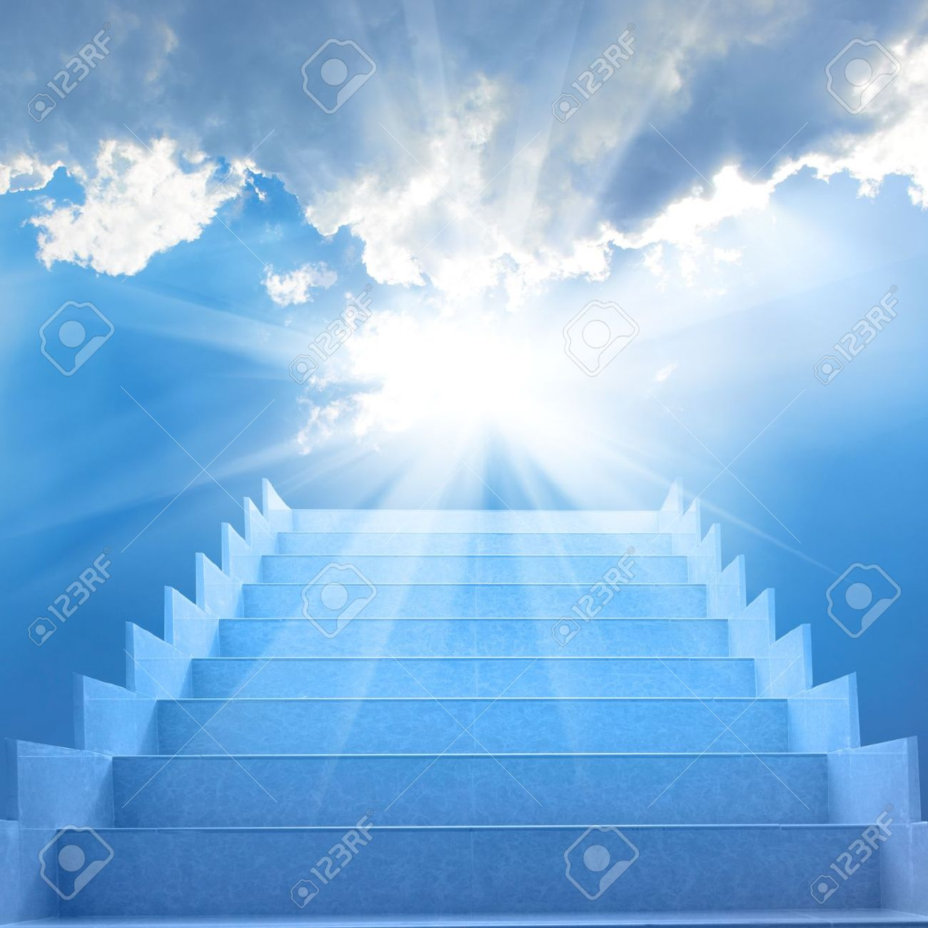 Staircase Free Photo Image Stairs White Clouds Sun Royalty Picture In And With Image And Stock 21883284 Concept Sky