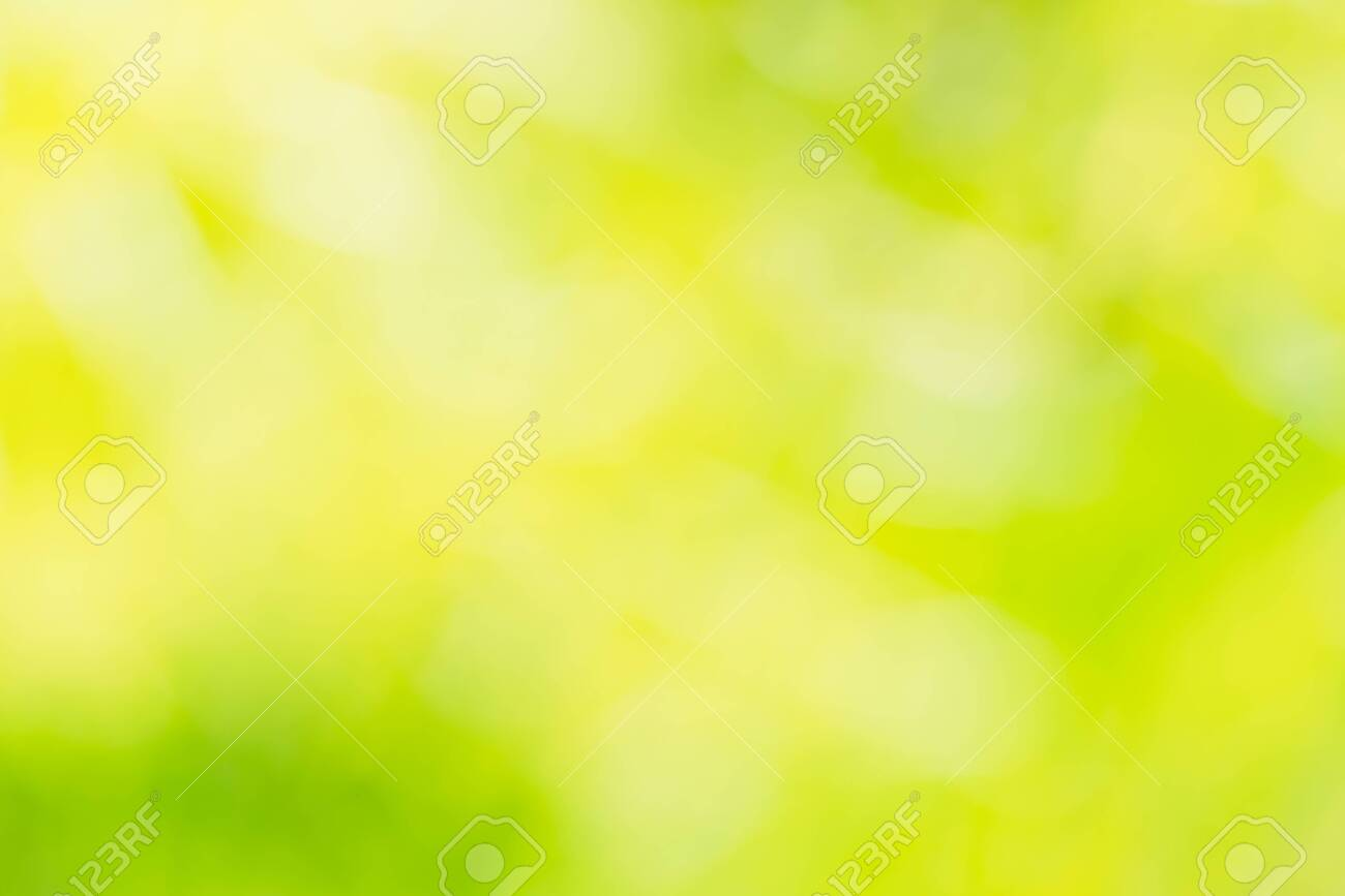 Green and yellow light spots can be used for background - 156658514