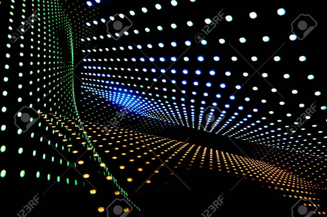設計された Led ライトの多くの抽象的な の写真素材・画像素材 Image ...