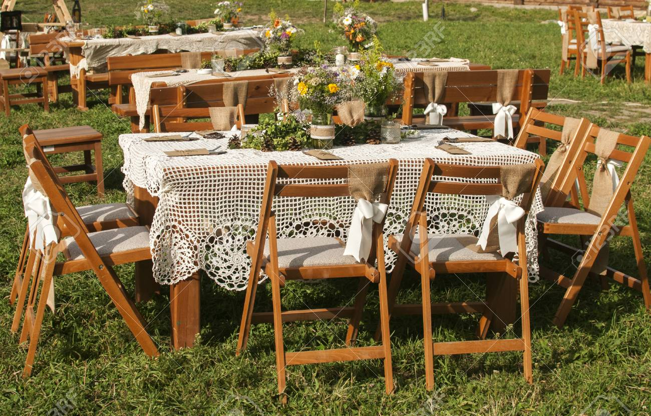 inspiration with lovely the green my furniture wooden outdoor kent idea wales garden tables rustic is