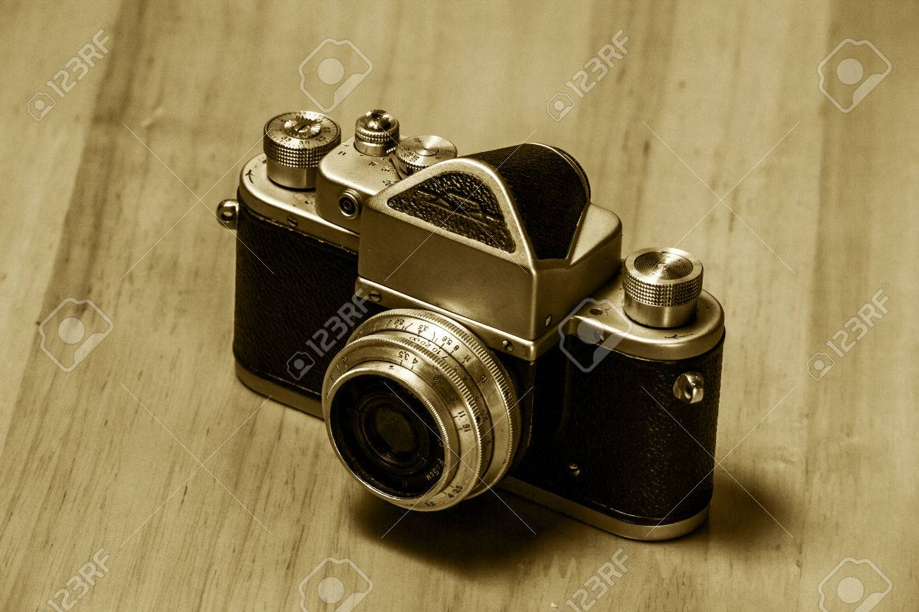 Old Retro Camera - Object Photography Stock Photo, Picture And ...