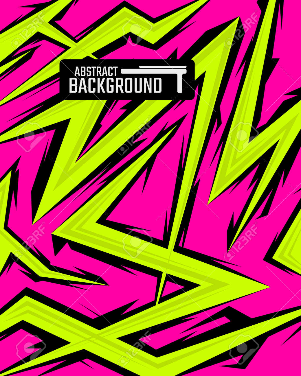 Abstract backgrounds for sports and games. Abstract racing backgrounds for t-shirts, race car livery, car vinyl stickers, etc. - 167561486