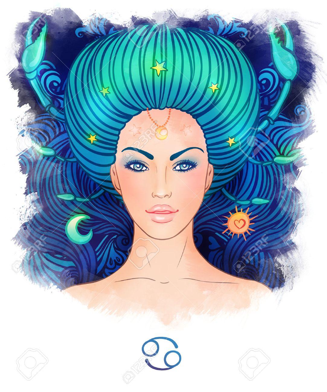 CANCER  KREBS zodiac sign