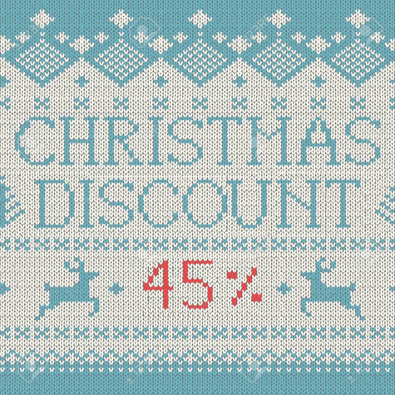 Venta De Navidad: El Descuento Del 45% (estilo Escandinavo Patrón De ...