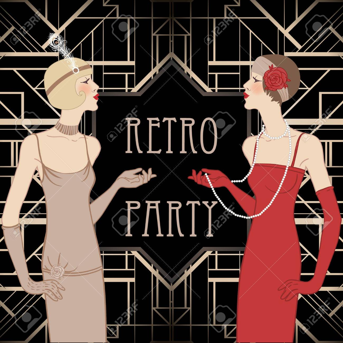 Harlem Nights Party Invitations Images Party Invitations Ideas