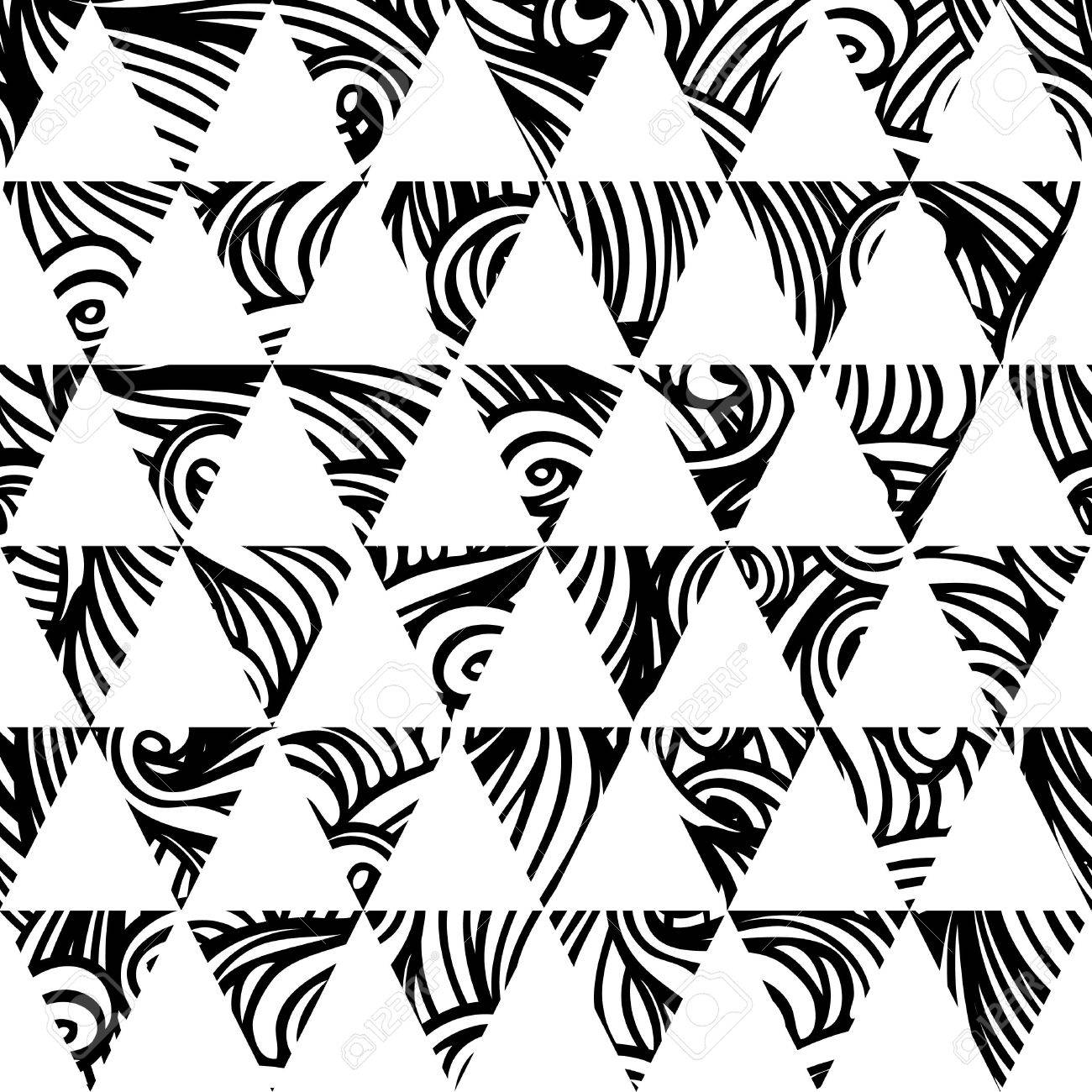 Ethnic  pattern in retro colors, aztec style seamless vector background Stock Vector - 24585057