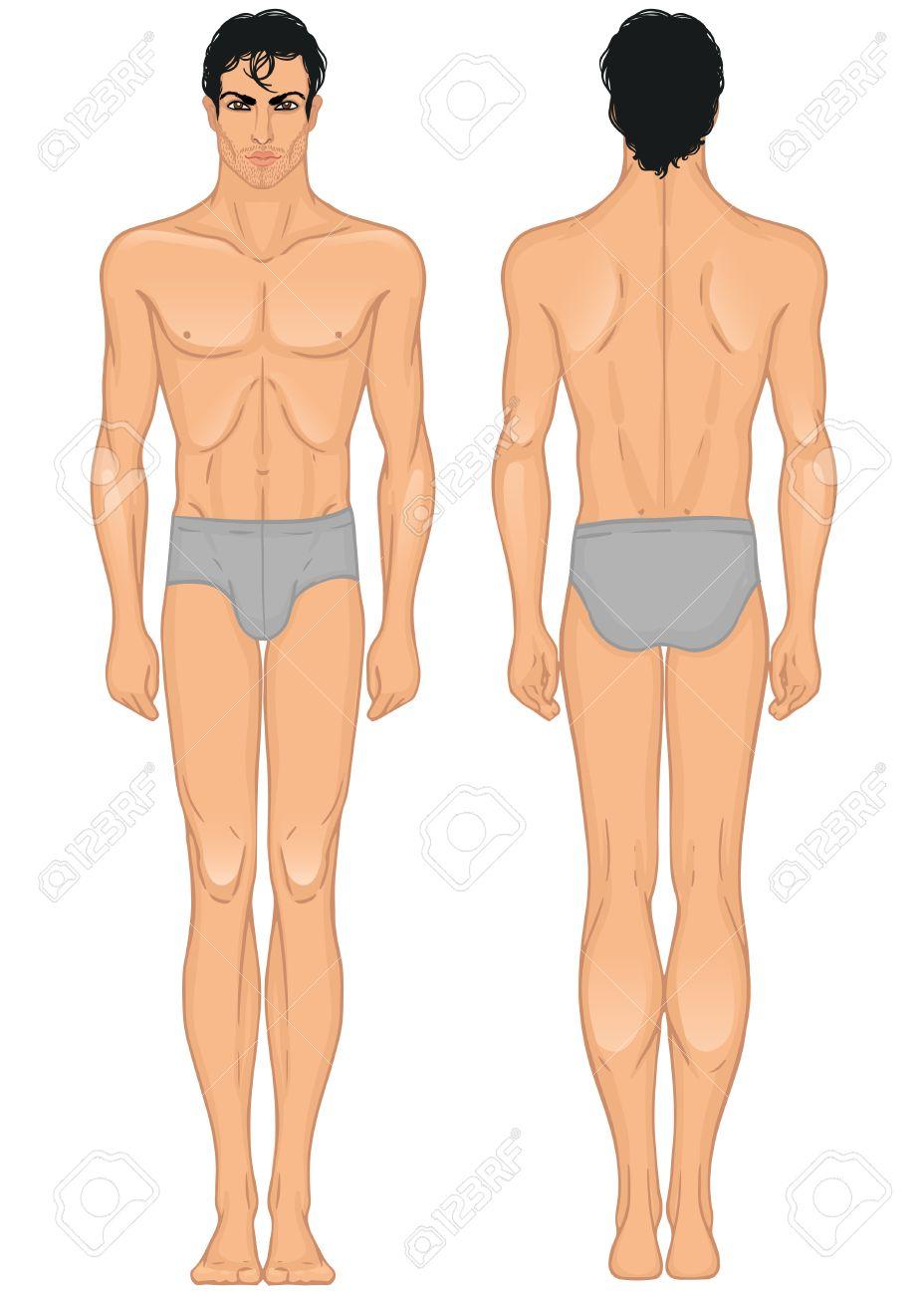 female male body template » Free Resume 2018 | Free Resume