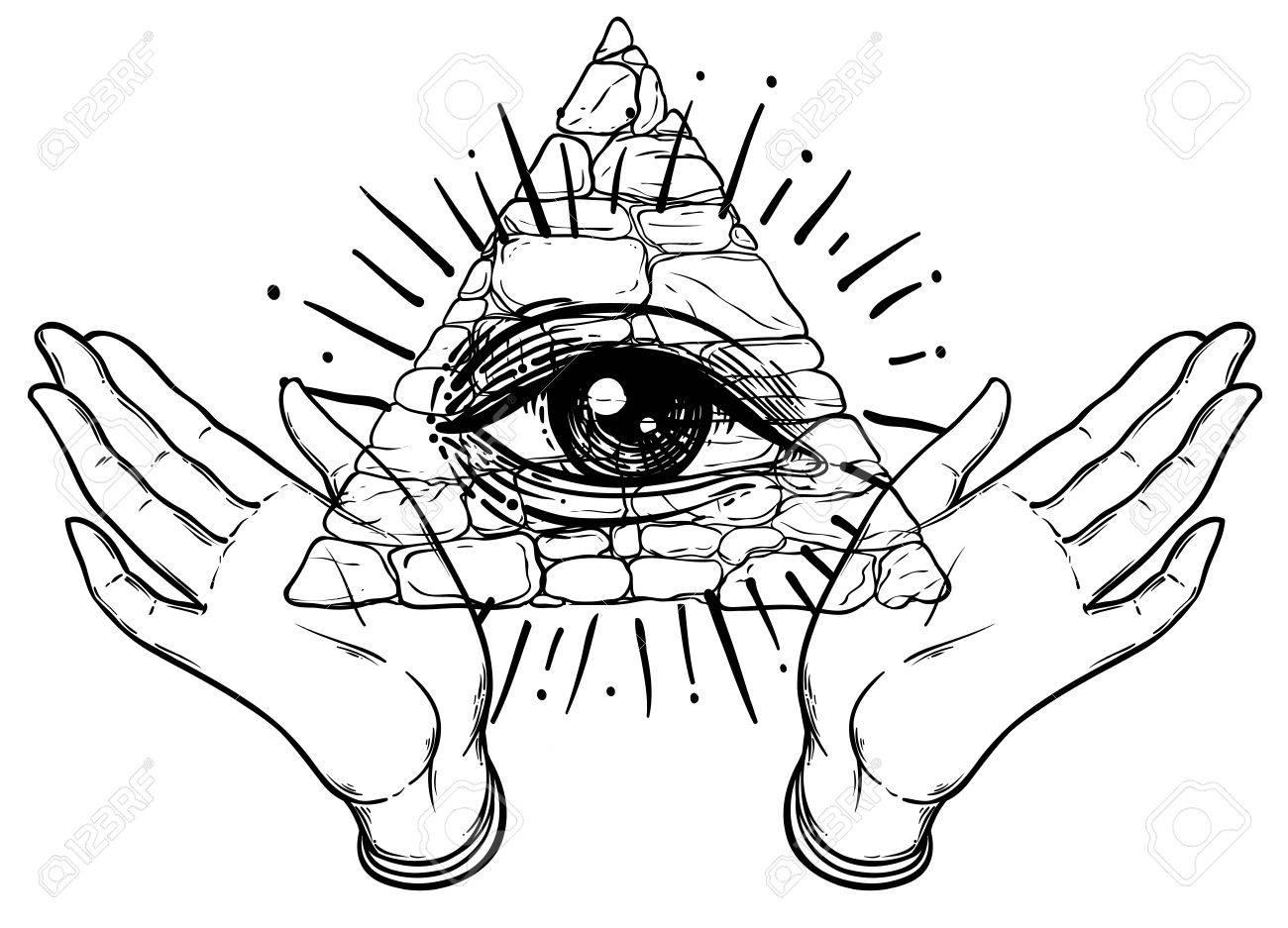 Female hands open around masonic symbol new world order hand drawn female hands open around masonic symbol new world order hand drawn alchemy biocorpaavc Gallery