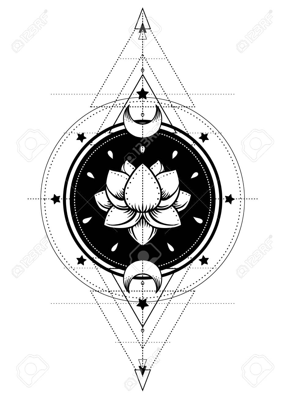 Harmony Tattoo Outline Wiring Diagrams Here39s Some Switch Symbols Switches Are Anything That Controls An Lotus And Sacred Geometry Ayurveda Symbol Of Balance Rh 123rf Com Name