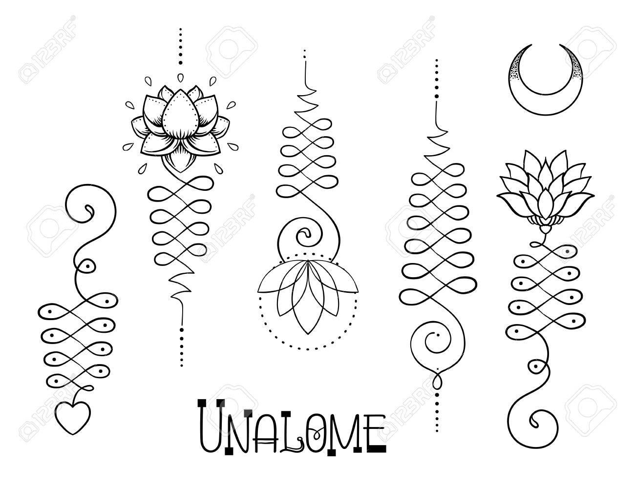 Lotus and sacred geometry unamole hindu symbol of wisdom and unamole hindu symbol of wisdom and path to perfection set buycottarizona