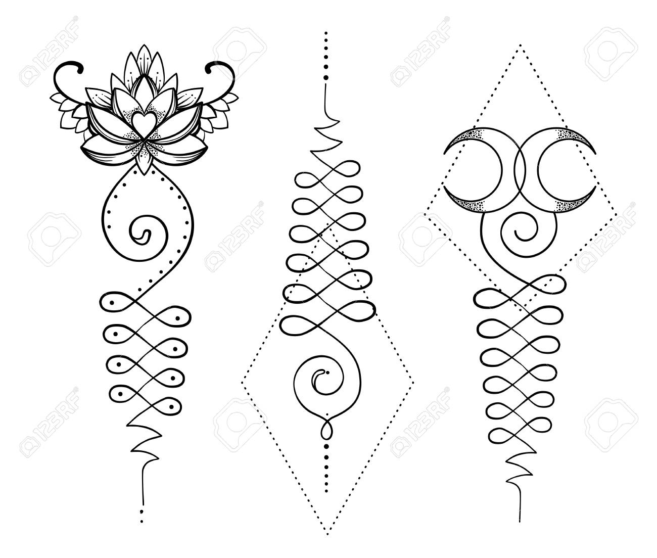 Lotus and sacred geometry unamole hindu symbol of wisdom and path unamole hindu symbol of wisdom and path to perfection set buycottarizona
