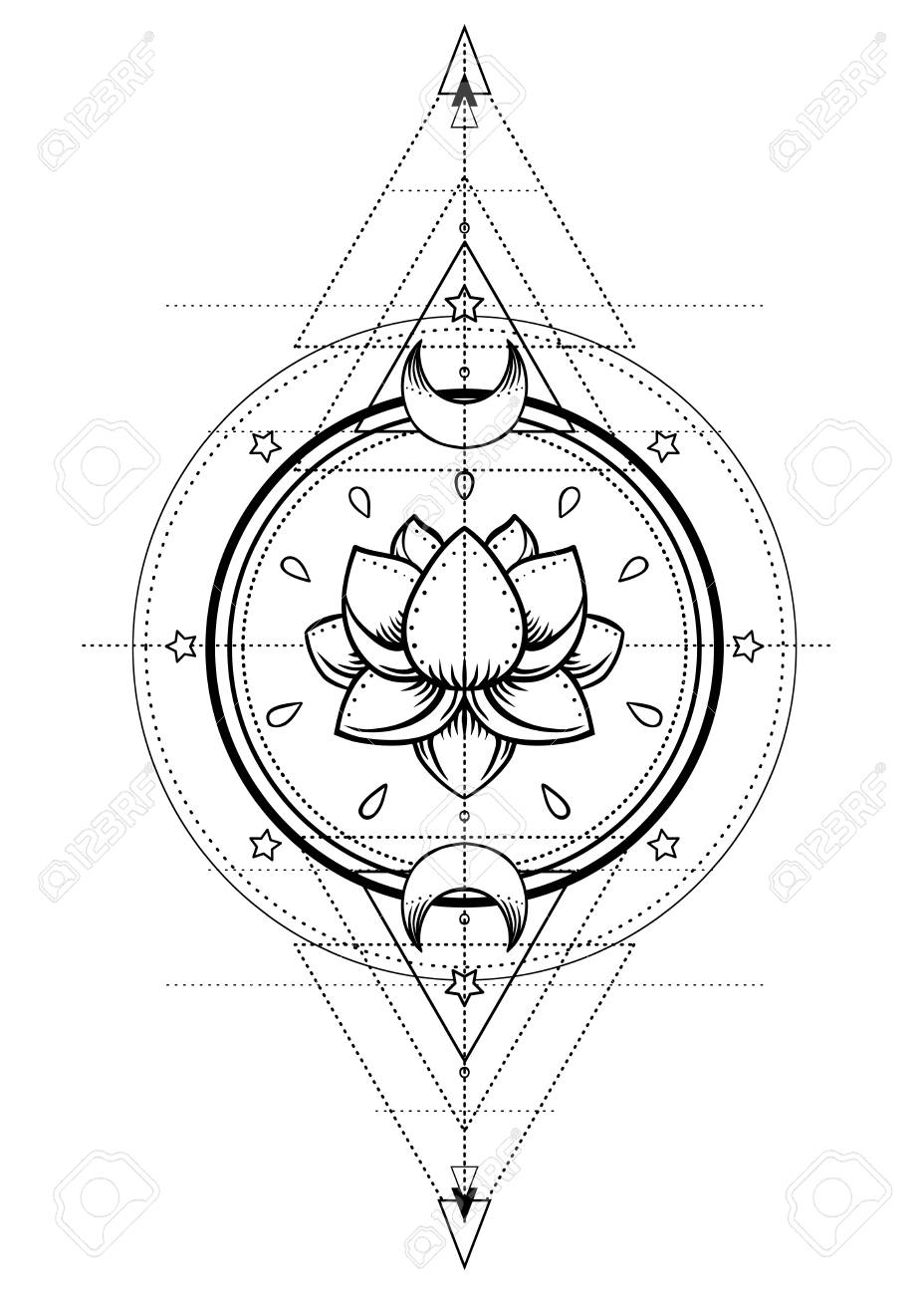 Harmony Tattoo Outline Wiring Diagrams Here39s Some Switch Symbols Switches Are Anything That Controls An Lotus And Sacred Geometry Ayurveda Symbol Of Balance Rh 123rf Com Peace Love