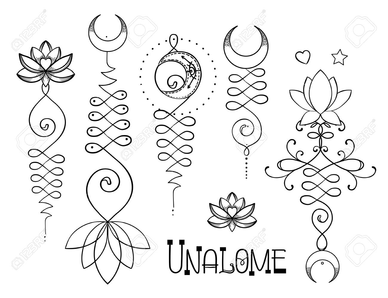 Lotus and sacred geometry unamole hindu symbol of wisdom and lotus and sacred geometry unamole hindu symbol of wisdom and path to perfection set mightylinksfo
