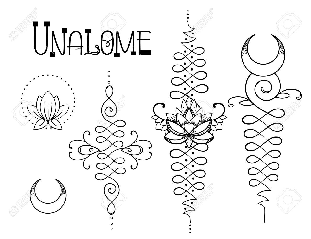 Yoga symbol tattoo images symbol and sign ideas lotus and sacred geometry unamole hindu symbol of wisdom and unamole hindu symbol of wisdom and buycottarizona