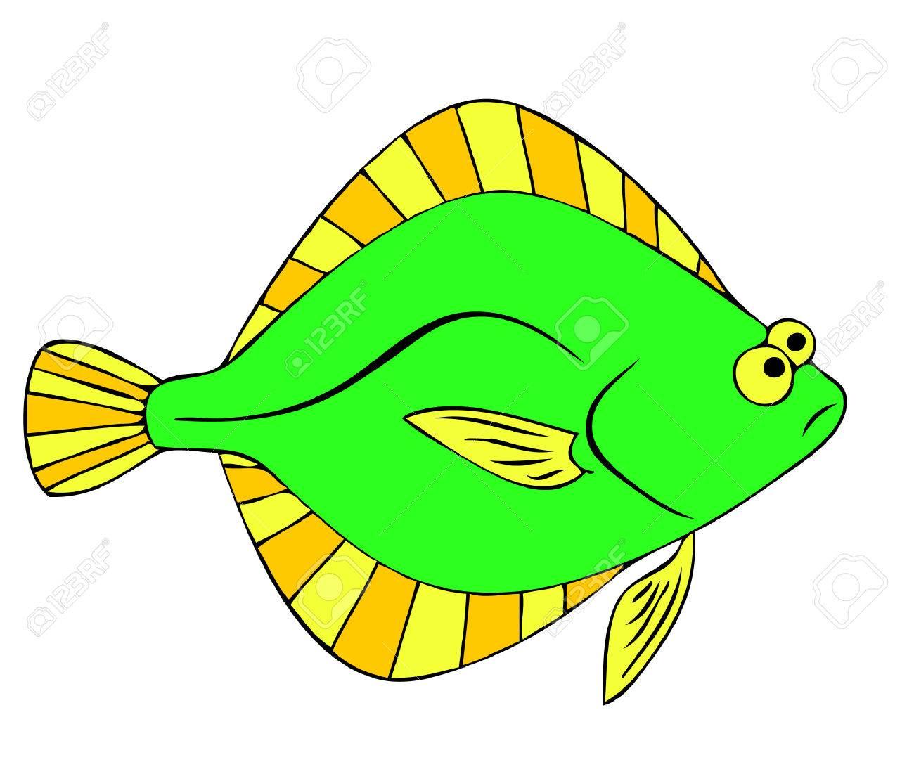flounder Stock Vector - 7209520
