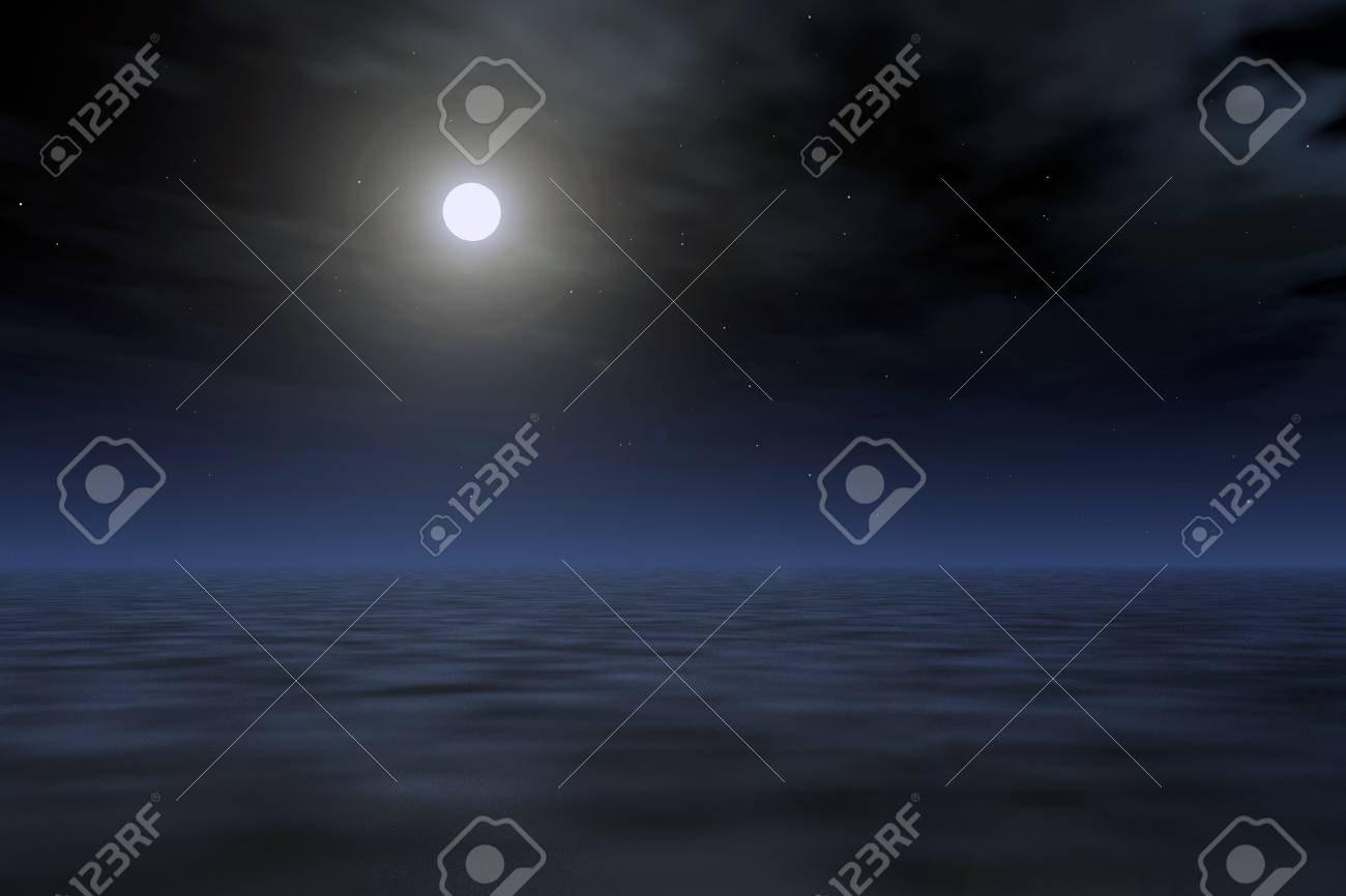 night landscape Stock Photo - 8471700