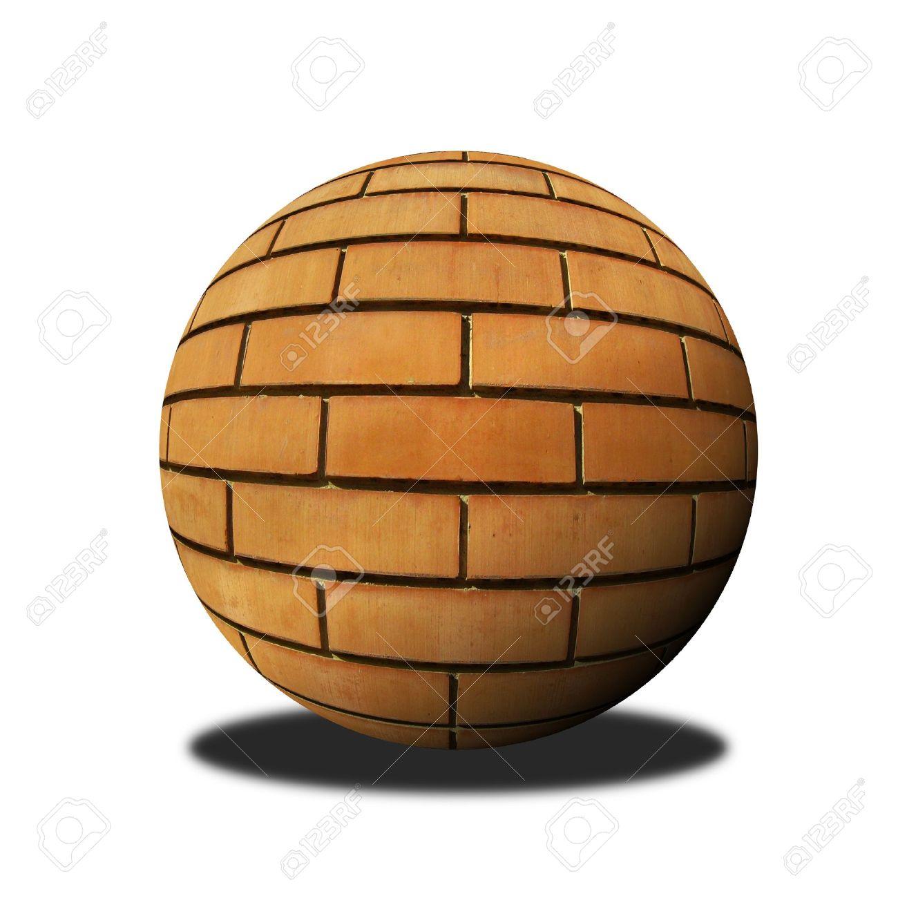brick ball Stock Photo - 10070705