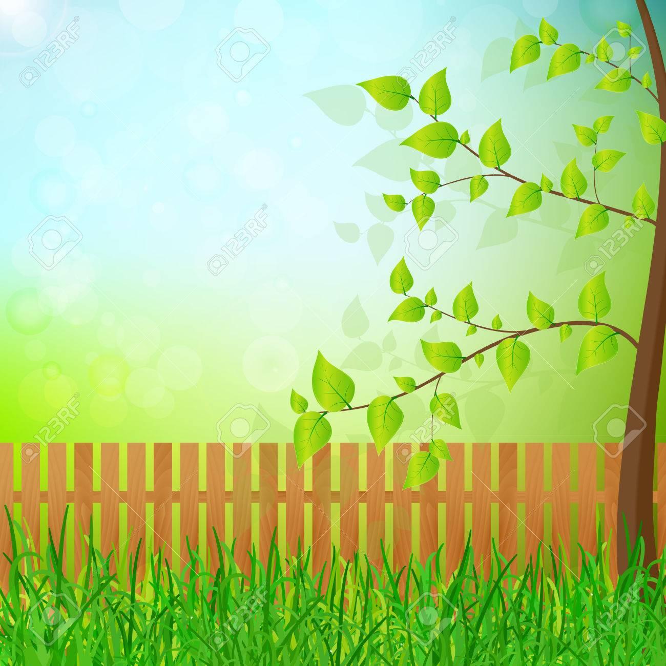 Perfect Spring Garden Vector