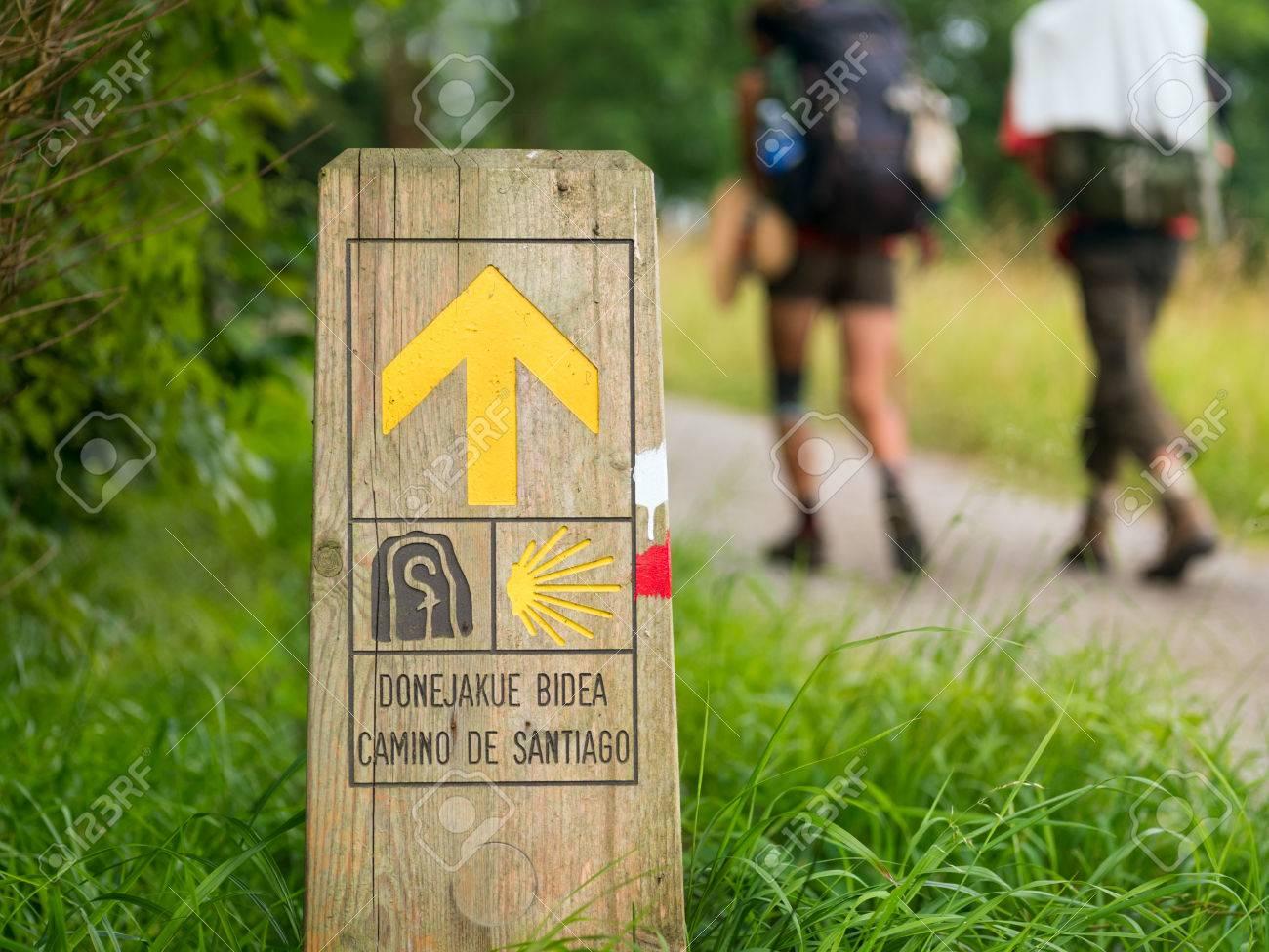 pilgrimage at Camino de Santiago - 83471836