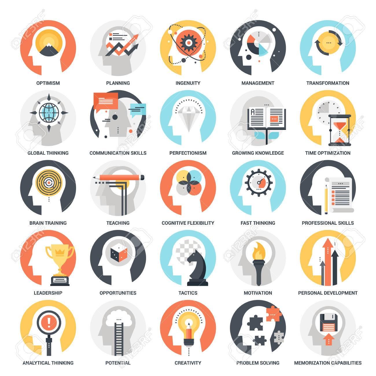 Personal Skills Icons - 70983048