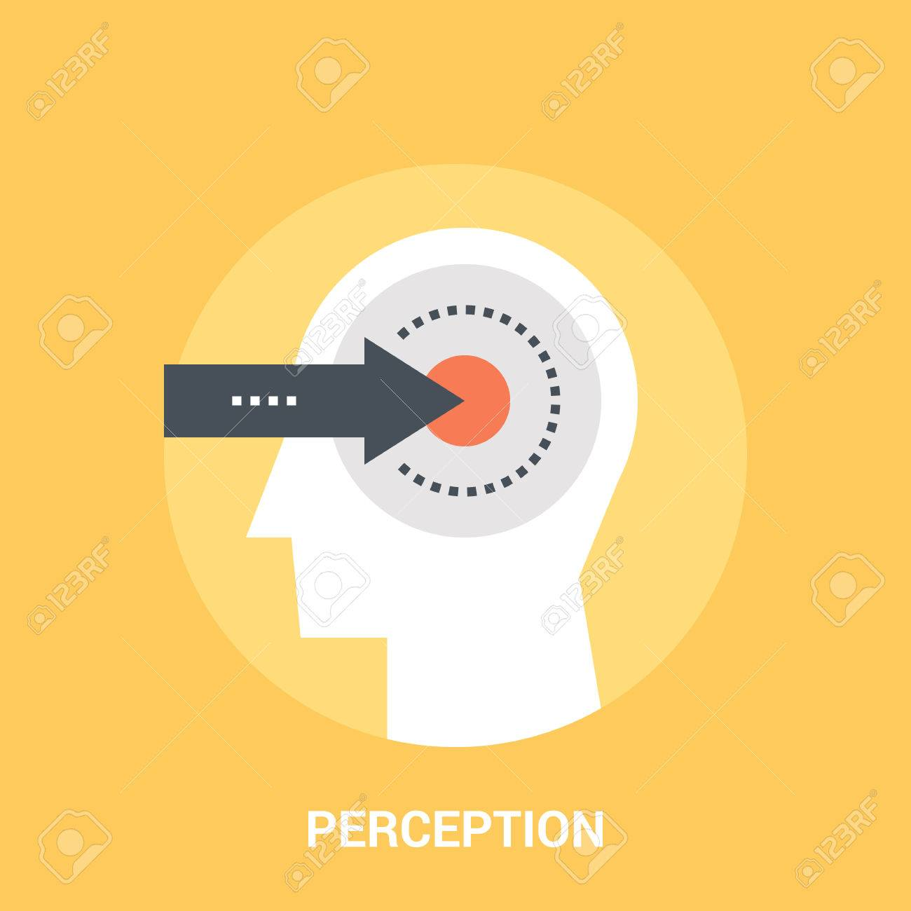 Abstract vector illustration of perception icon concept - 70983242
