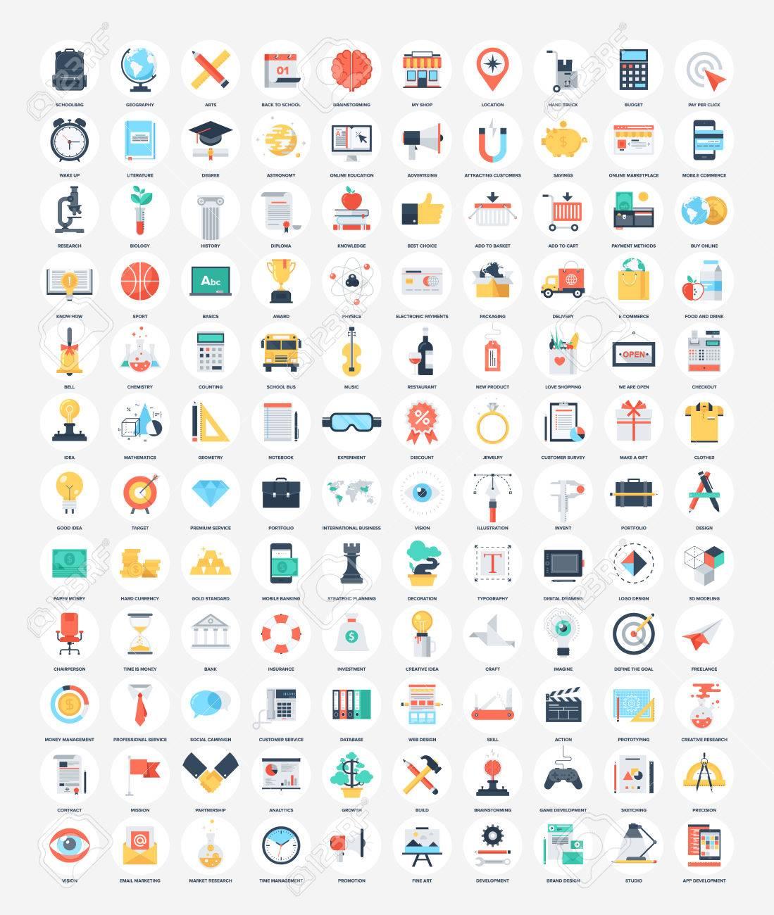 Flat Web Icons - 78497706