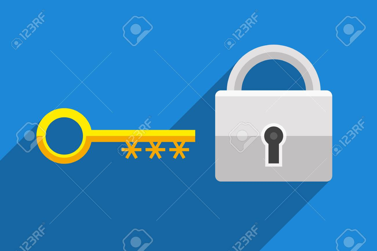 Lock as symbol password protected access and key as symbol of information technology and personal information security lock as symbol password protected access and key as symbol of password for accessing data biocorpaavc Images