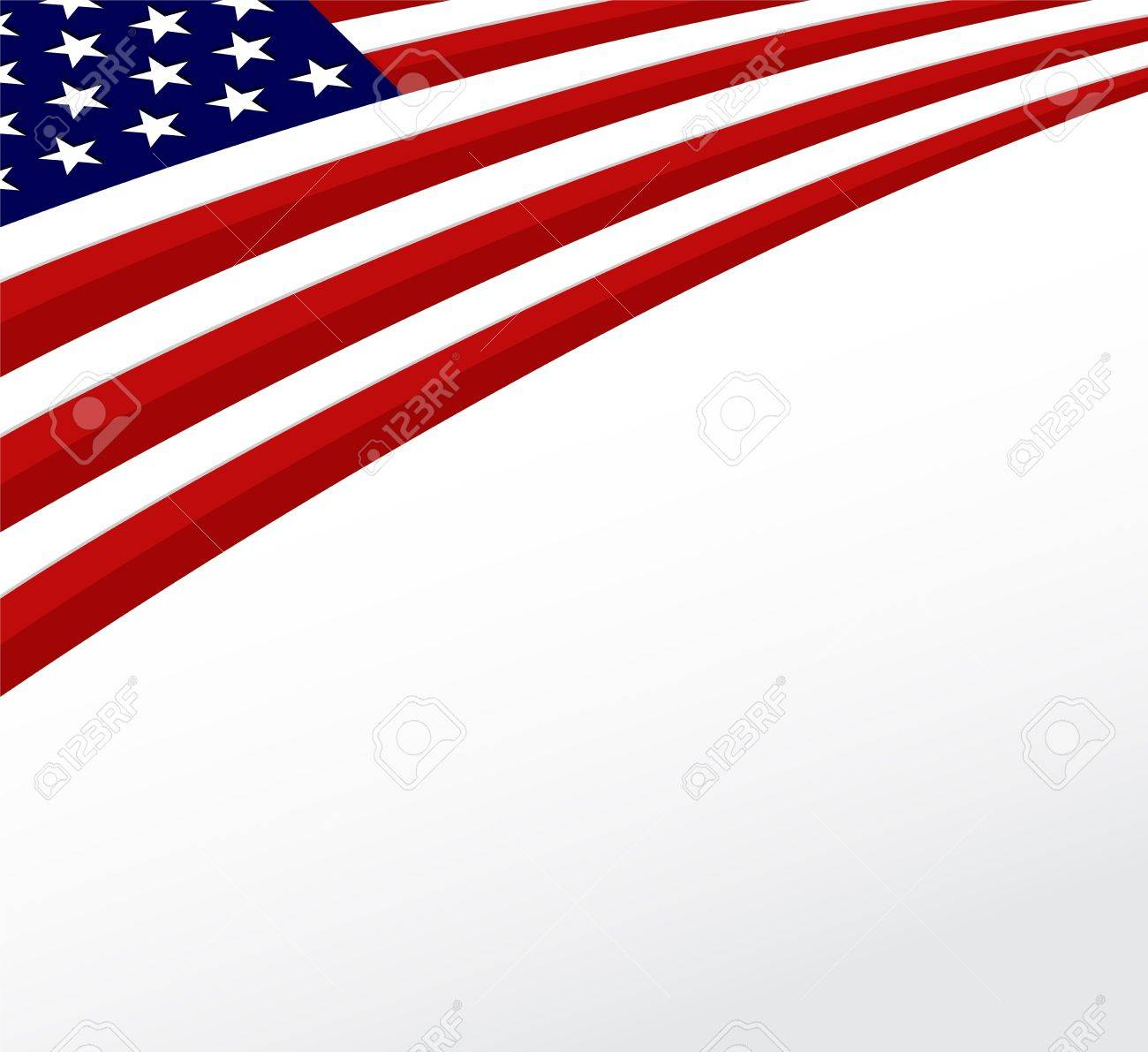 Usa Flag United States Flag Background Vector Royalty Free Cliparts Vectors And Stock Illustration Image 19016351