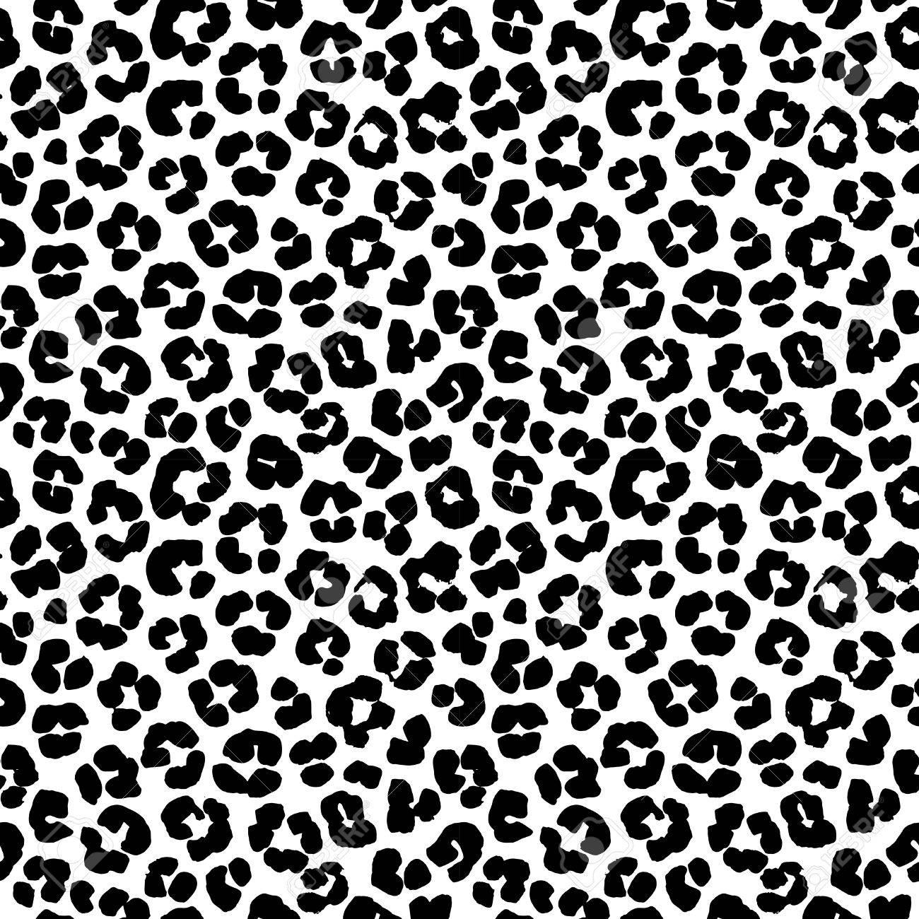 100 Génial Concepts Leopard Motif Noir Et Blanc