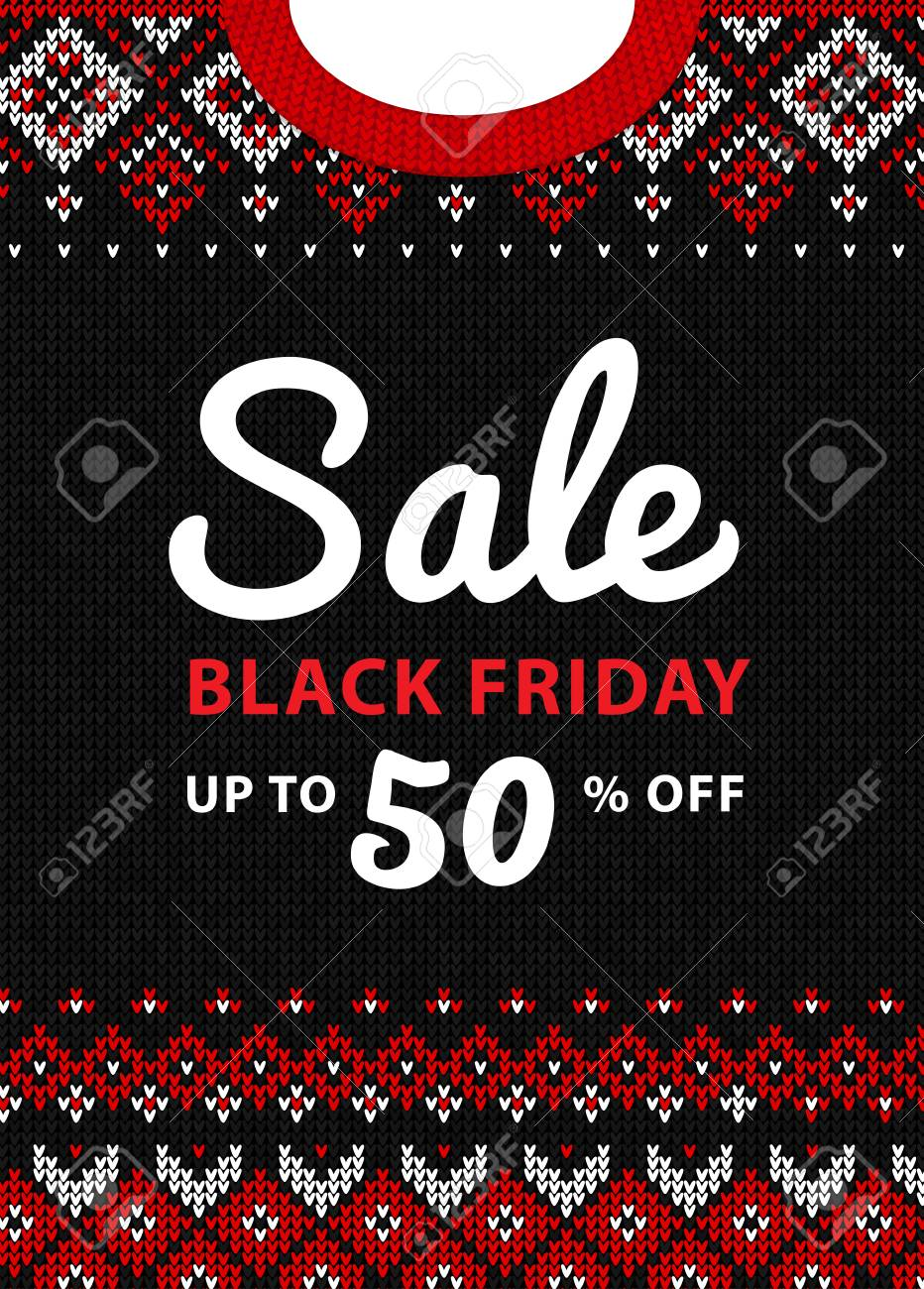 black friday sale inscription design template black friday banner