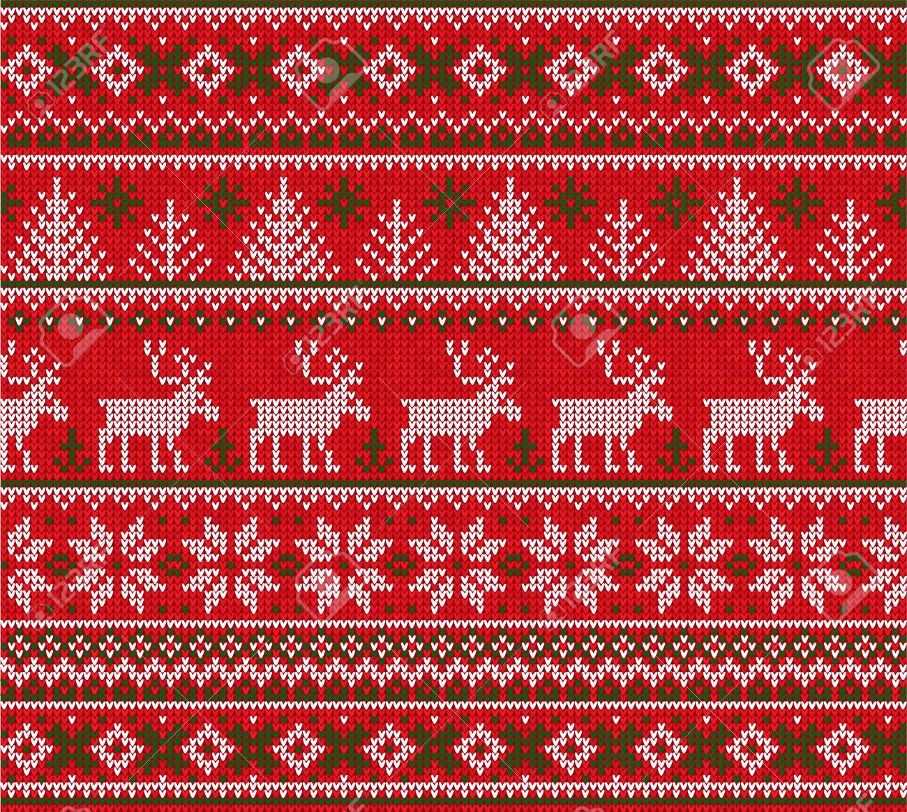 Ugly sweater Merry Christmas Happy New Year Vector illustration..
