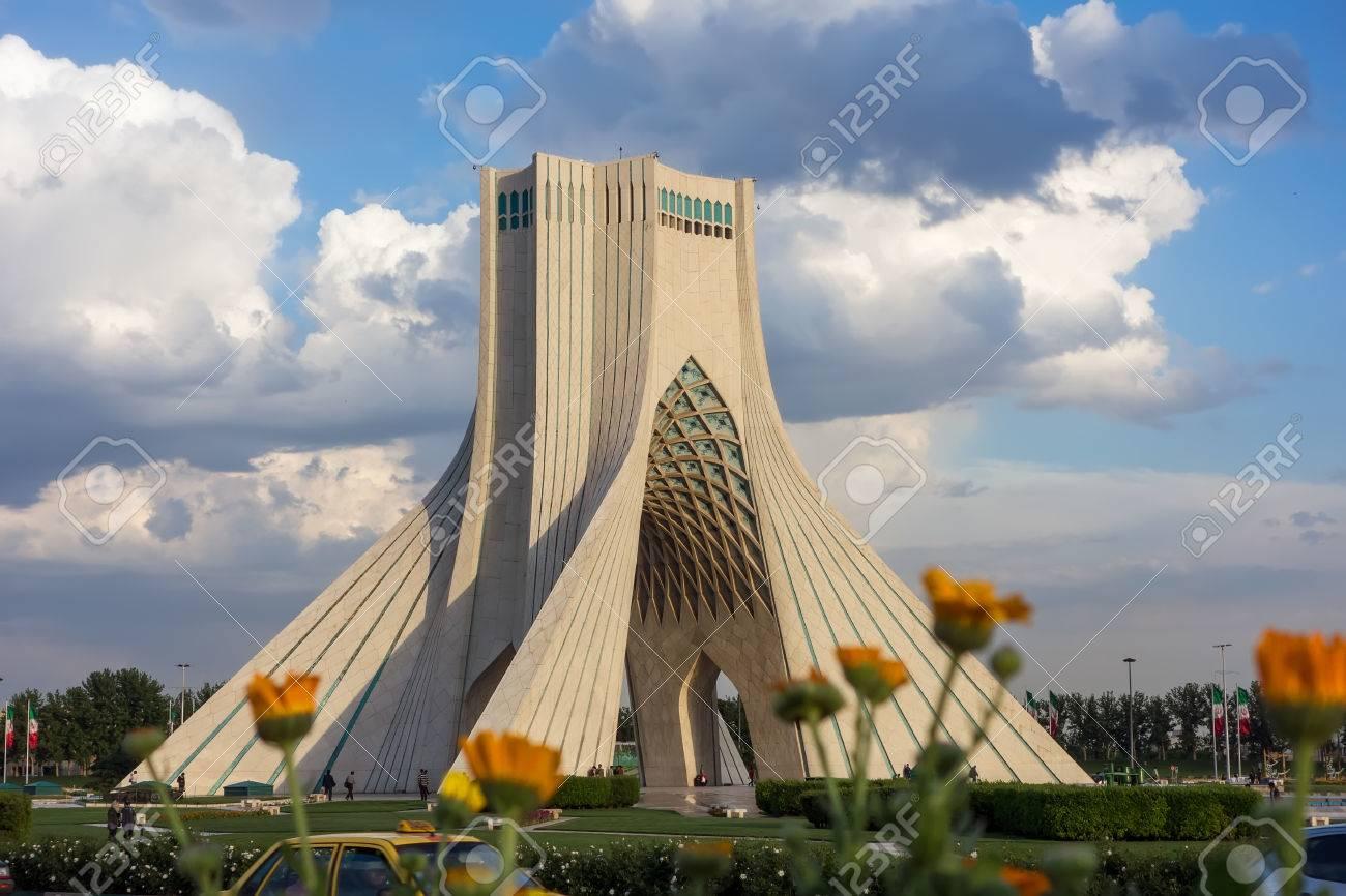 Azadi Tower In Tehran, Iran Stock Photo   28618176