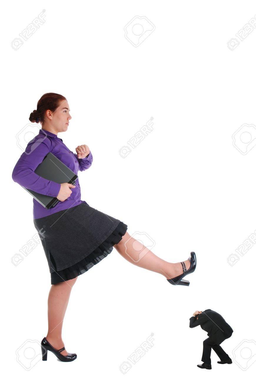one girl crushing her bad boss stock photo picture and royalty one girl crushing her bad boss stock photo 3854220