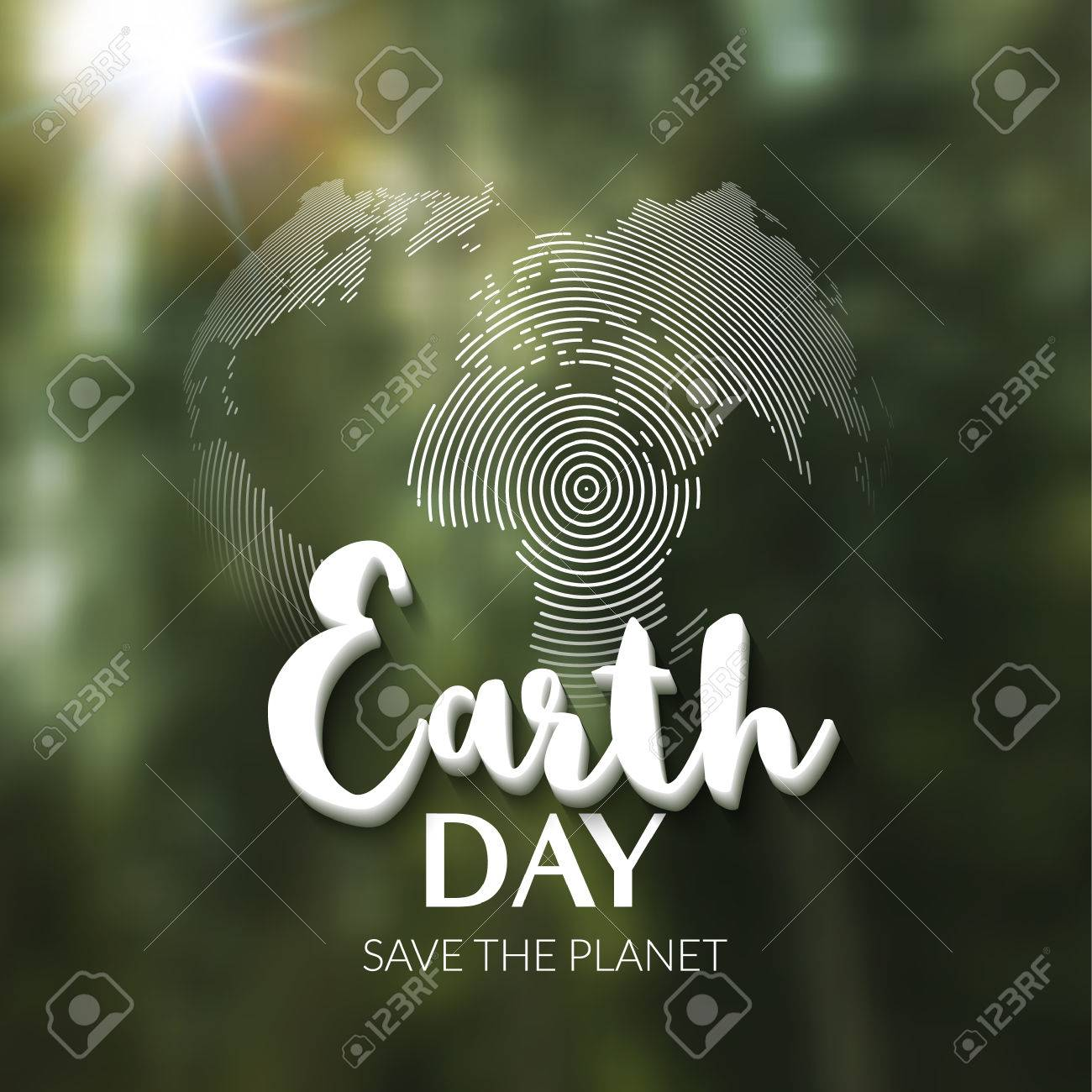 Earth day earth world map globe sign lettering quote earth earth world map globe sign lettering quote earth day greeting card gumiabroncs Gallery