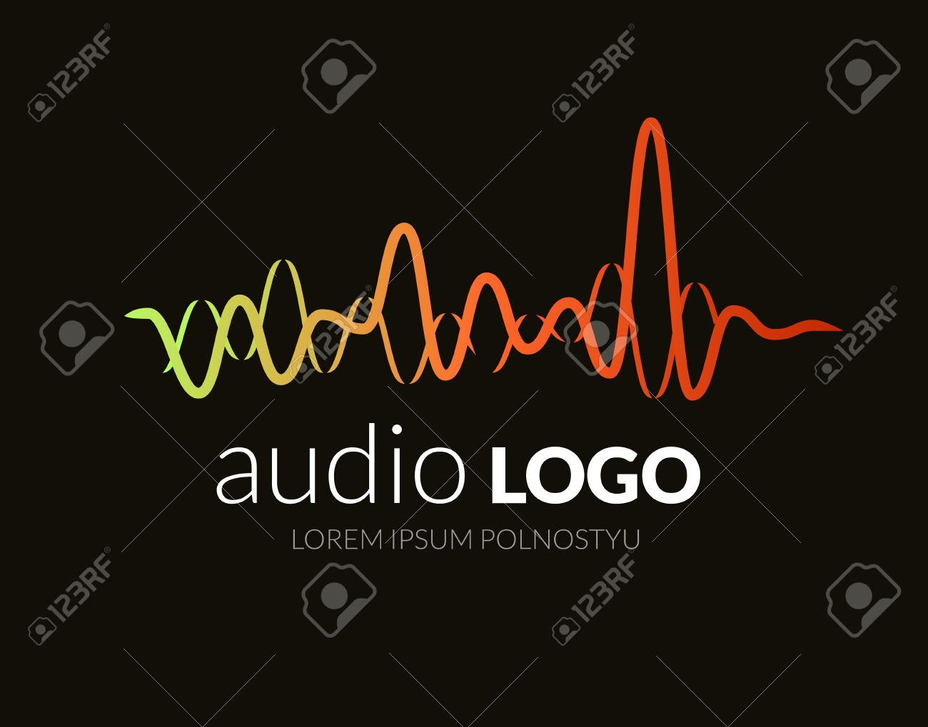 logo sound wave studio music dj audio system brand branding royalty free cliparts vectors and stock illustration image 57946565 logo sound wave studio music dj audio system brand branding