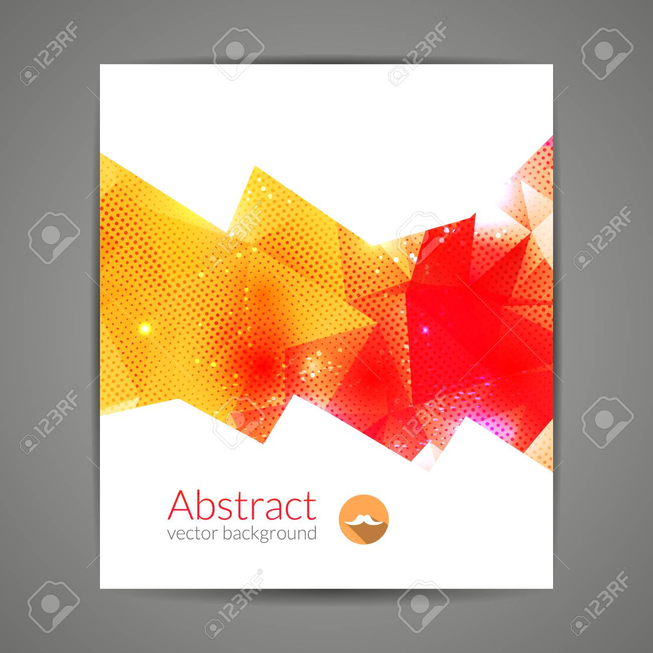 Abstract Triangle 3d Geometric Colorful Graphic Background Wallpaper