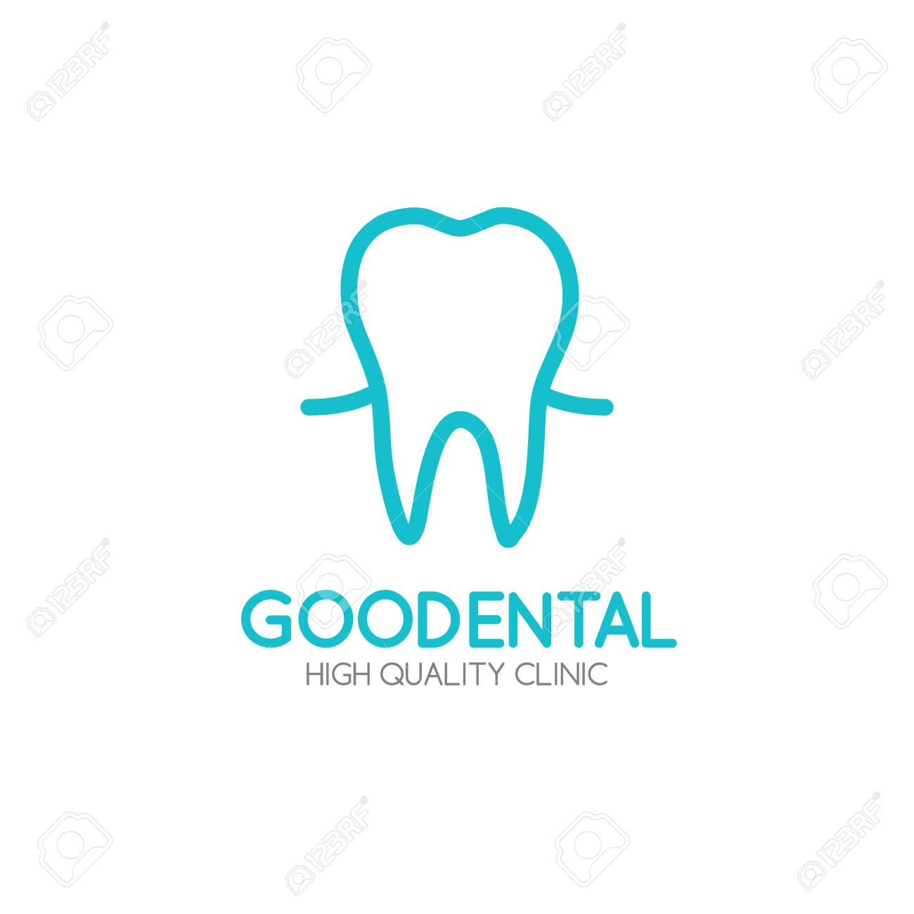 Healthy tooth logo design vector template in linear style royalty healthy tooth logo design vector template in linear style stock vector 71494568 maxwellsz