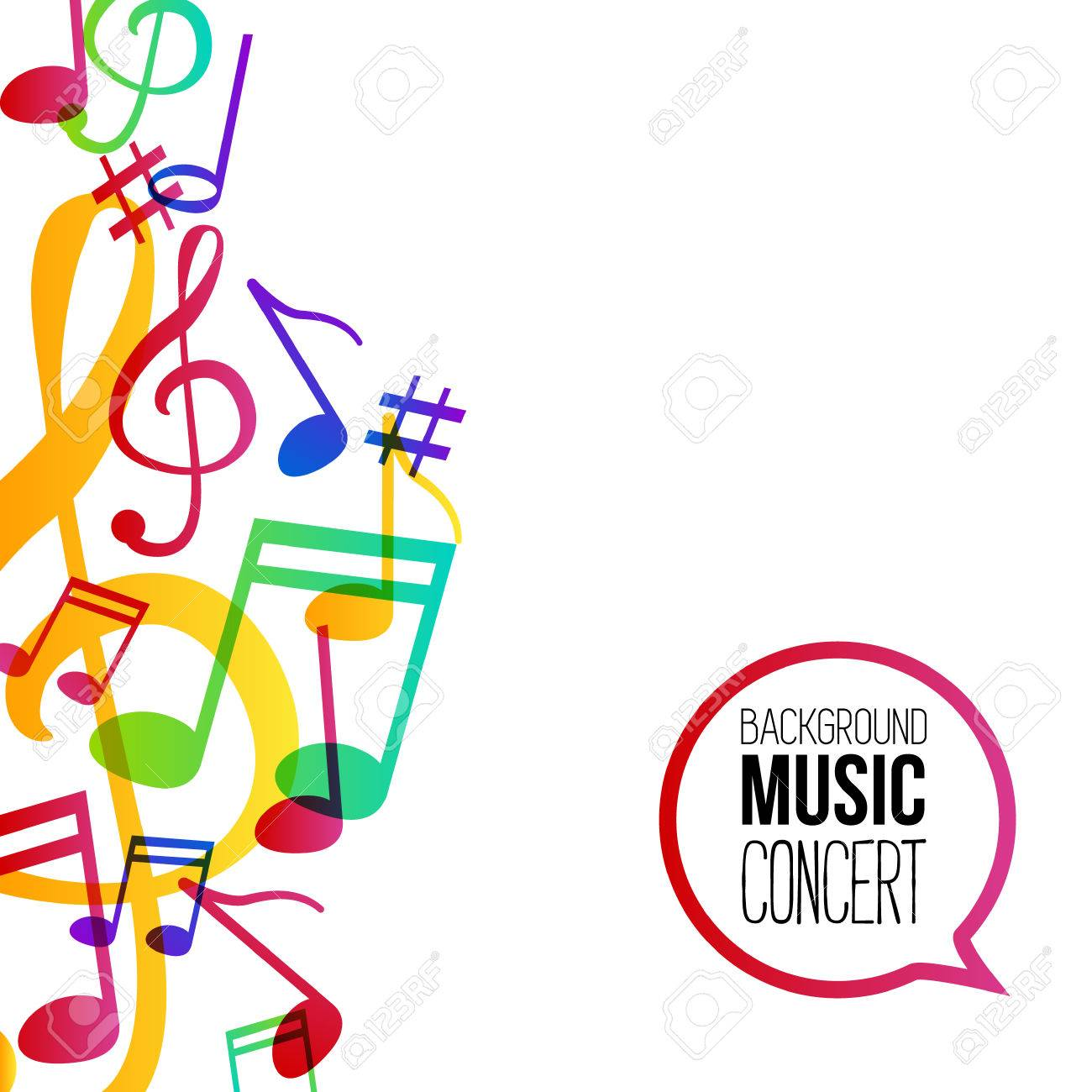 music background musical background with musical notes vector rh 123rf com vector musical instrument vector music symbols