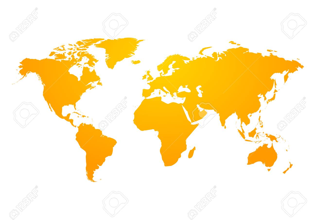Vector world map global earth icon america asia australia vector vector world map global earth icon america asia australia africa usa abstract modern design of world map gumiabroncs Choice Image