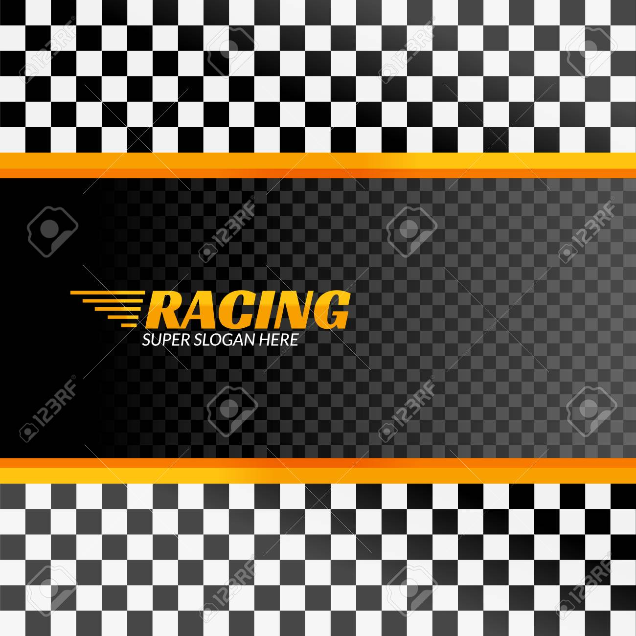 Racing Background With Race Flag Vector Sport Design Banner Royalty Free Cliparts Vectors And Stock Illustration Image 97191489