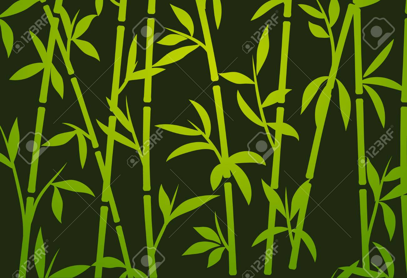 Bamboo Background Japanese Asian Plant Wallpaper Grass Bamboo Tree Vector Pattern