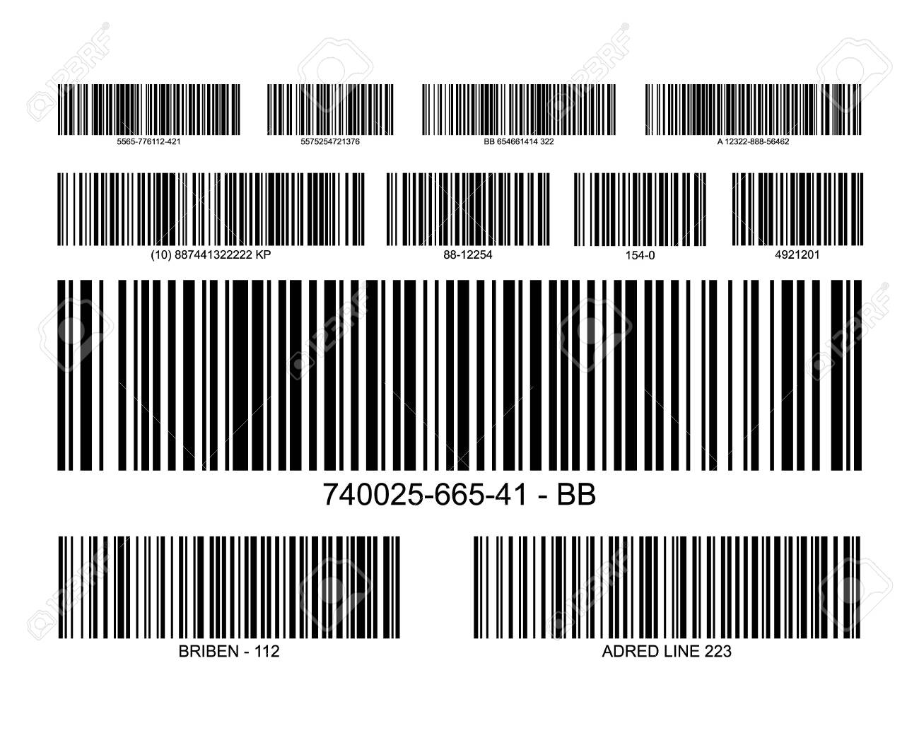 Bar code label price icon  Barcode scanner inventory retail information