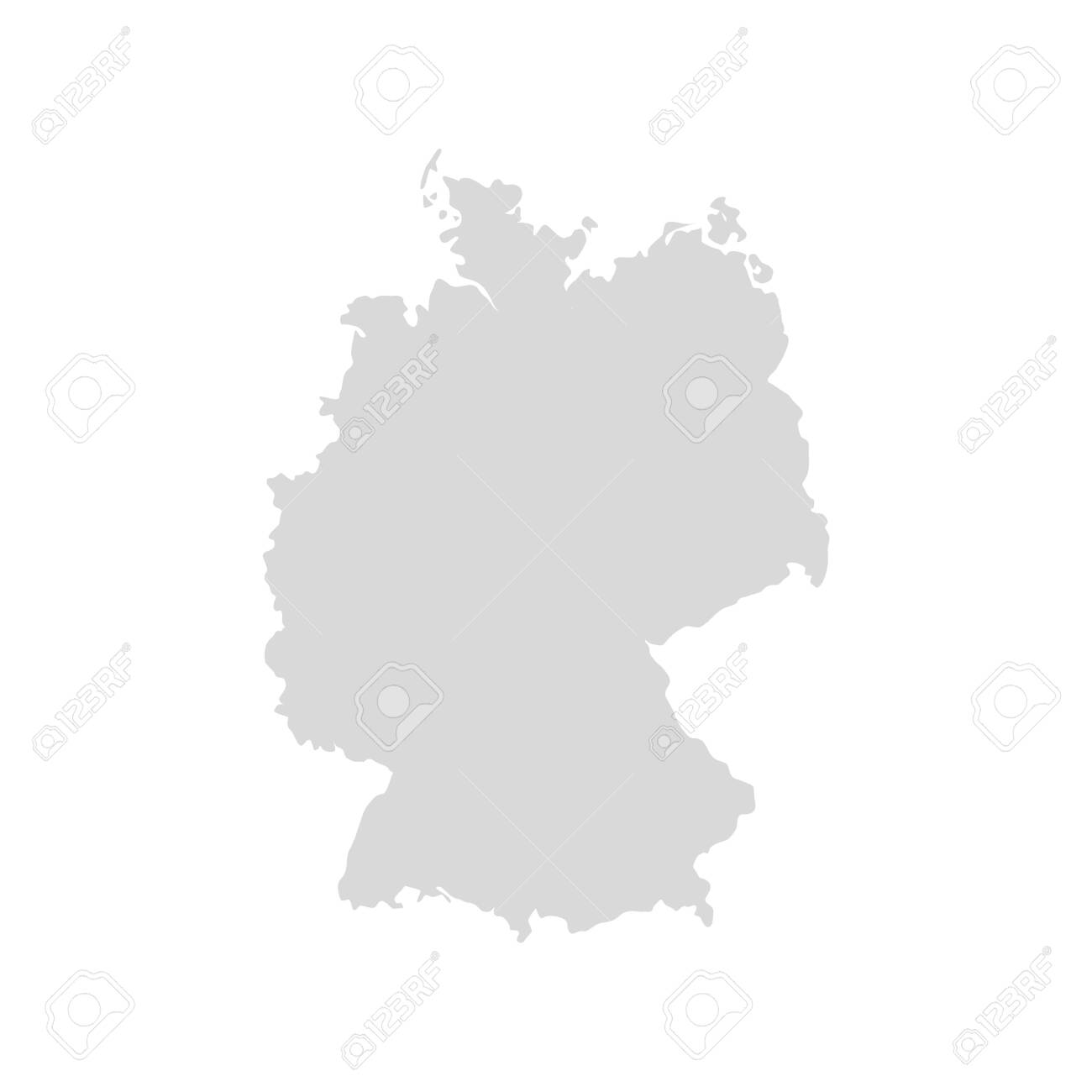 Picture of: Germany Vector Map Icon Europe Germany Country Map Background Royalty Free Cliparts Vectors And Stock Illustration Image 147904123