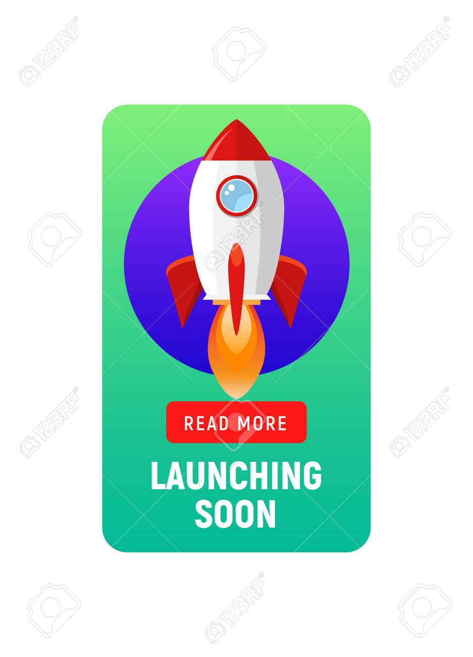 Launching soon marketing store template. Coming soon announcement flyer banner. - 168932609