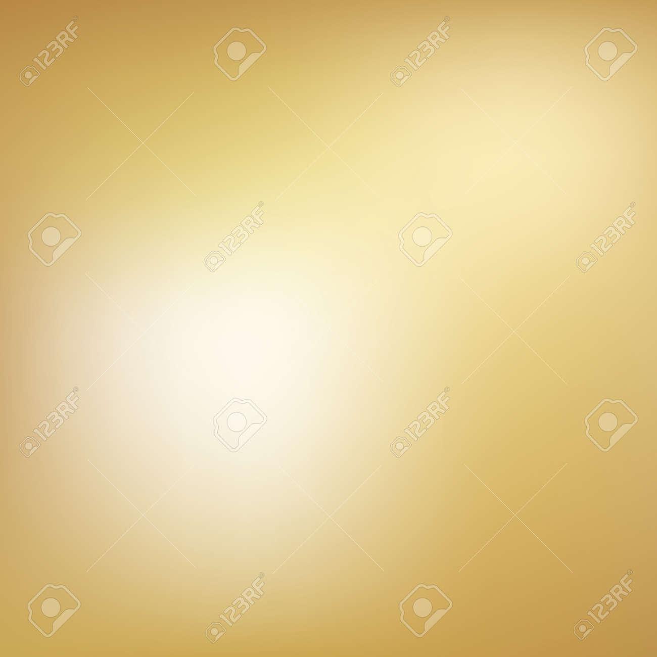Gold background gradient foil vector yellow texture. Smooth gold gradient blur metallic - 168932633