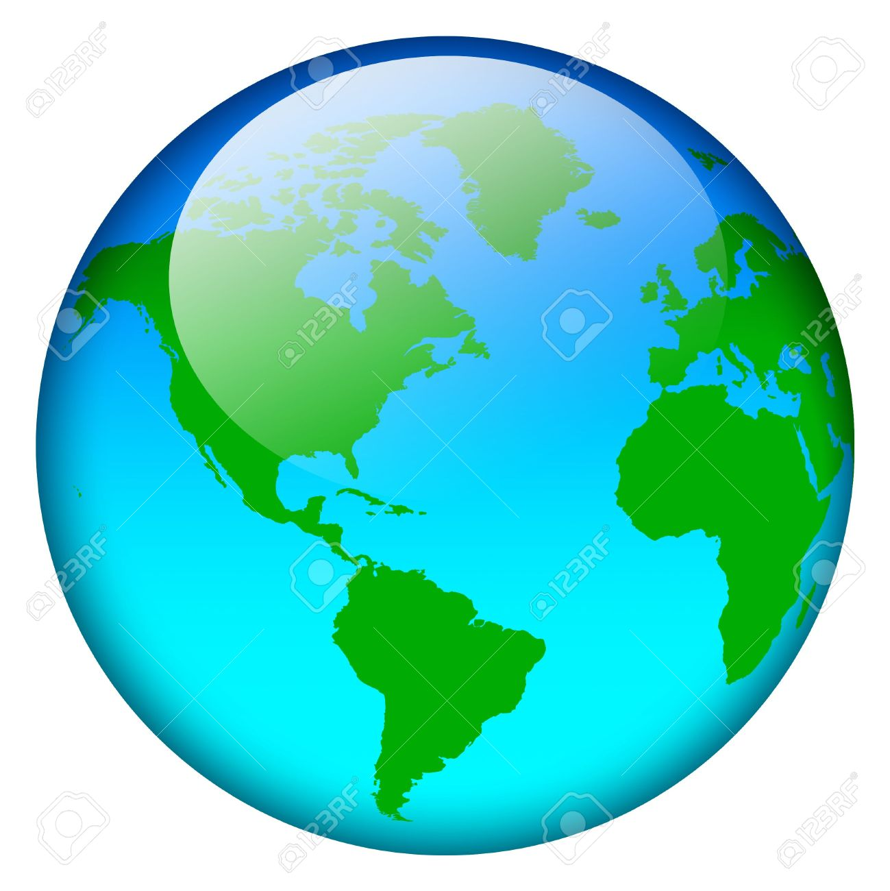 Blue world map globe stock photo picture and royalty free image blue world map globe stock photo 2554383 gumiabroncs Gallery