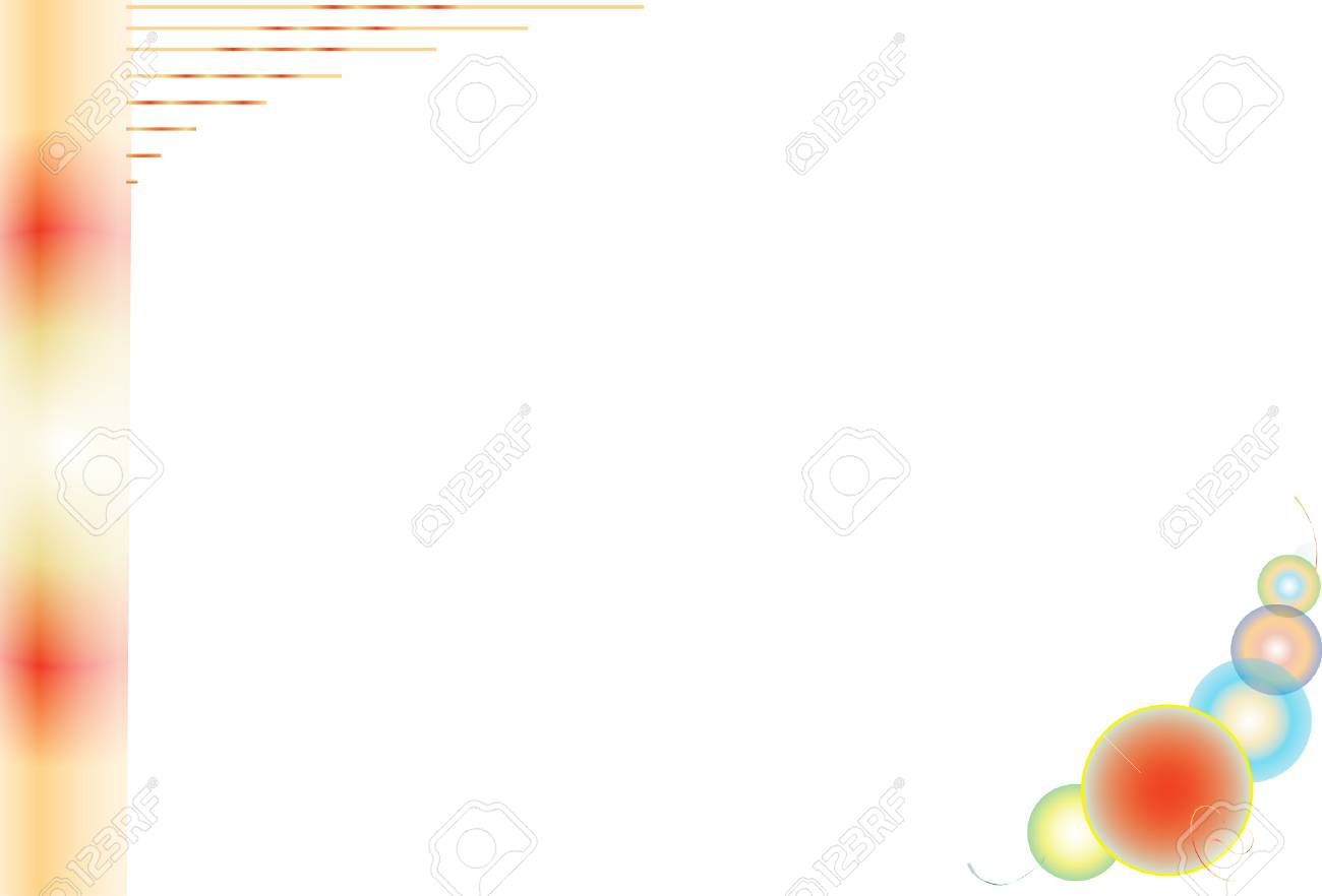 white background with decorative elements for design and designers Stock Vector - 6122417
