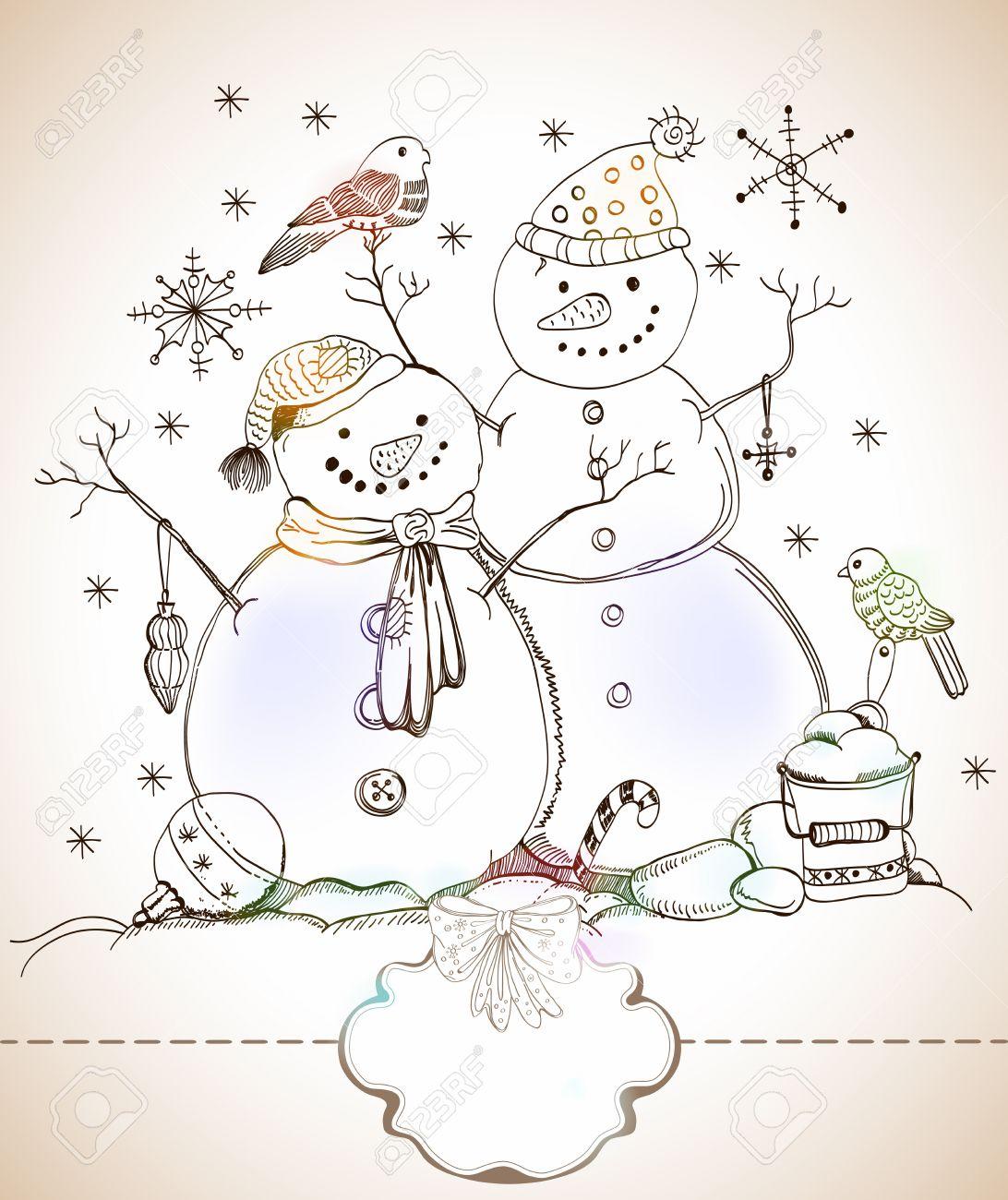 Рождество в германии новогодние рисунки плакаты 5