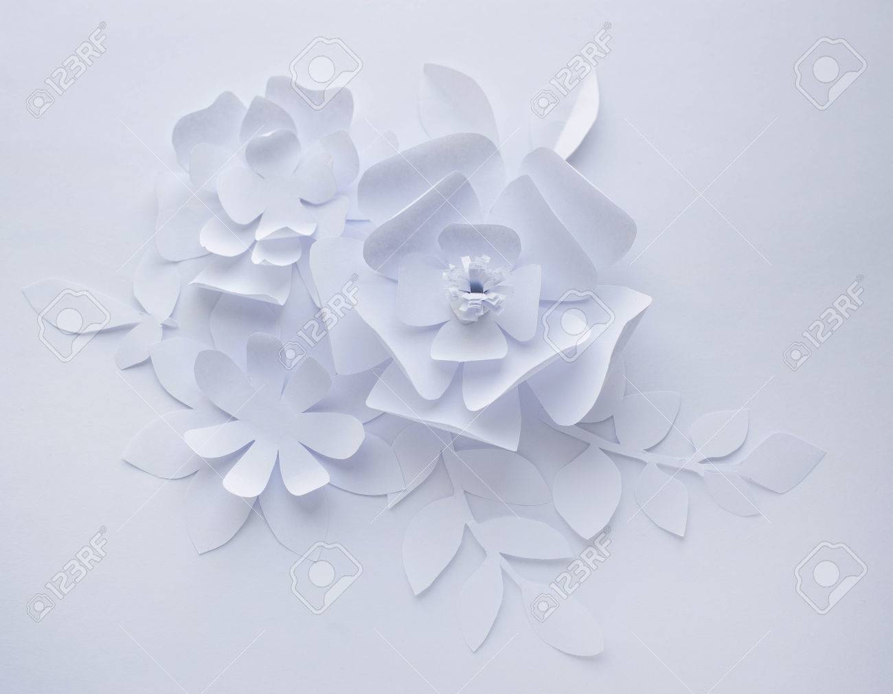 Paper Craft Flower Vaydileforic